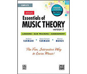Alfred's Essentials of Music Theory - Version 3 - Student Version Ages 8 and up CD-ROM Software