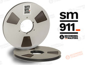 "RTM 34225 - SM911 1/2"" x 3750' Analog Tape - 12.5"" Metal Reel + Box"