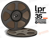 "RTM 34512 - LPR-35 1/4"" x 3600' Analog Tape - 10.5"" Trident Plastic Reel + Box"