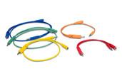 Hosa CMM Hopscotch Patch Cables - 3.5 mm TS Jumper - 5 Pack