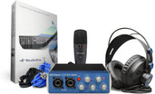 PreSonus AudioBox 96 Studio Pack w/ HD7 Headphones, M7 Mic, S1 Artist
