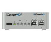 ICMIDI-02L iConnect MIDI2+ Interface Lightning Edition - Front