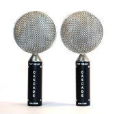 Cascade FAT HEAD Stereo Pair Short Ribbon Microphones