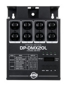 Elation ADJ DP-DMX20L 4 Channel Portable DMX Dimmer/Switch Pack