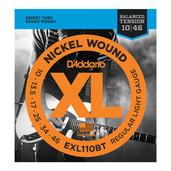 D'Addario EXL110BT Nickel Wound Light Gauge Electric Guitar Strings
