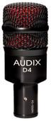 Audix D4 Dynamic Drum & Instrument Microphone