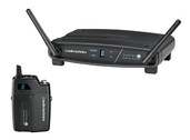 Audio-Technica System-10 ATW-R1100 Receiver & ATW-T1001 UniPak Transmitter System
