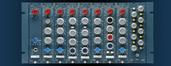 BAE 8CM - 8-Channel 10-Series Powered Rack / Mixer
