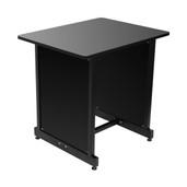 On-Stage Stands  WS7500 Series Workstation Rack Cabinet (Black)