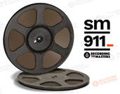 "RTM 34112 - SM911 1/4"" x 2500' Analog Tape - 10.5"" Trident Plastic Reel + Box"