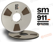 "RTM 34120 - SM911 1/4"" x 2500' Analog Tape - 10.5"" Metal Reel + Box"