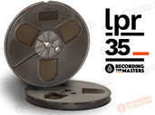 "RTM 34510 - LPR-35 1/4"" x 885' Analog Tape - 5"" Plastic Reel + Box"