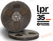 "RTM 34511 - LPR-35 1/4"" x 1800' Analog Tape - 7"" Plastic Reel + Box"