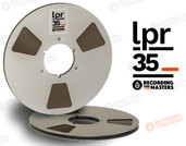 "RTM 34520 - LPR-35 1/4"" x 3600' Analog Tape - 10.5"" Metal Reel + Box"