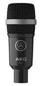 AKG D40 Professional dynamic instrument microphone - front