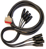 Mogami Gold AES / EBU Digital Recorder Interface Cable, Tascam, DB25 to XLR