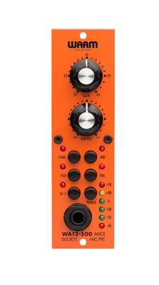 Warm Audio WA12-500 MKII Discrerte Mic Pre w/DI - Front