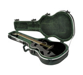 SKB 1SKB-30 Thin-line Acoustic/Classic Shaped Deluxe Guitar Case