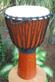 "Gold Tree Bark Djembe: 24"" x 12"""
