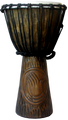 "Praying Hands Djembe: 20"" x 10"""