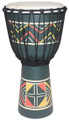 "Painted Djembe # 3: 24"" x 12"""
