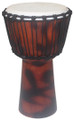 "Plain Finish Fire Sketch Djembe 20"" x 10"""