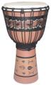"Painted Djembe # 6: 20"" x 10"""