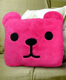 Pink Bear Pillow