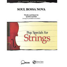 Soul Bossa Nova (Grade 2-3) - for Strings
