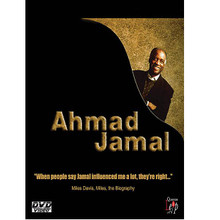 Ahmad Jamal - Live by Ahmad Jamal. Live/DVD. DVD. MVD #DJ-856. Published by MVD.  This 60 minute DVD, recorded in Cannes, France in 1984, features the Ahmad Jamal Trio performing two complete sets including 7 songs. The first set features Ahmad Jamal and his Trio, and the second set features the Ahmad Jamal Trio with outstanding jazz musician Gary Burton. Songs performed include: My Funny Valentine * Bogata * Autumn Leaves * and more. 1 hour.