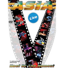 Asia - Heat of the Moment: Live by Asia. Live/DVD. DVD. MVD #5044D. Published by MVD.  The supergroup perform their biggest hits live in concert, including: The Heat Goes On * Go * Soul Survivor * Only Time Will Tell * Don't Cry * Arena * Heat Of The Moment * and many more.