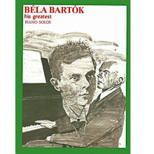 Bartok - His Greatest by Bela Bartok (1881-1945). For Piano Accompaniment. His Greatest (Ashley). Children's, Chilren's. 191 pages. Ashley Mark Publishing Company #AS10181. Published by Ashley Mark Publishing Company.  Includes: Hungarian Tunes for Children, Ten Easy Pieces, Fourteen Bagatelles, Two Romanian Dances, Two Fantasies, Scherzo, and Slovakian Tunes for Children, and more.