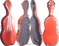 Fiber Composite Cello Case Red, CC8000-1-R - 4/4