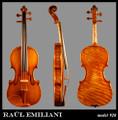 Raul Emiliani Model 928 violin
