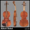 Albert Nebel Model 601 Violin