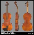 Wilhelm Klier Model 702 Viola
