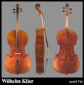 Wilhelm Klier Model 702 Cello