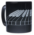 3-D Keyboard Mug - Black