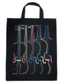 Four Color Violin Tote Bag - Extra Large