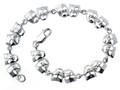Bracelet - Comedy/Tragedy Sterling Silver