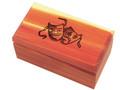 Comedy/Tragedy Cedar Box