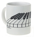 3-D Keyboard Mug - White