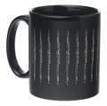 Flute Mug - Black/Gold