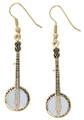 Banjo Earrings