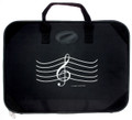 "G-Clef Briefcase - Black 16"" x 12"""
