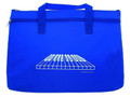 Keyboard Double Zipper Portfolio - Royal Blue