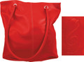 Pebble Stone Tote - G-Clef - Red