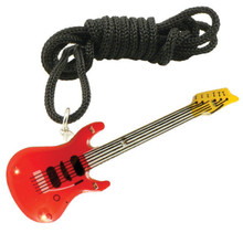 Flashing Necklace Electric Guitar - Red