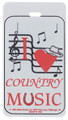 Country Music ID Tag