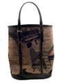 Ladies Handbag Piano Tapestry - Bucket Style